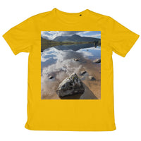 Lochan na - h Achlaise and The Black Mount Mens Retail T-Shirt