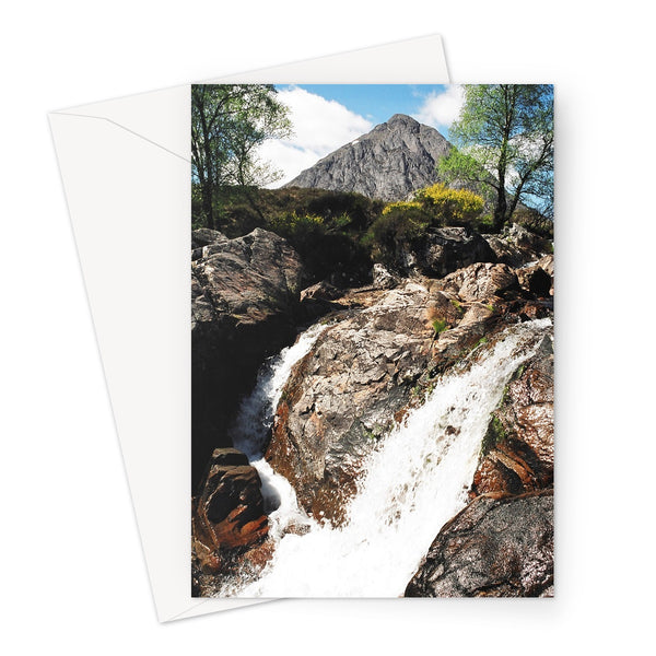 Buachaille Etive Mor, the Highlands Greeting Card