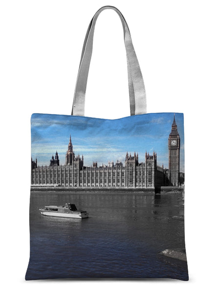 Big Ben & the House of Parliament , London  Sublimation Tote Bag