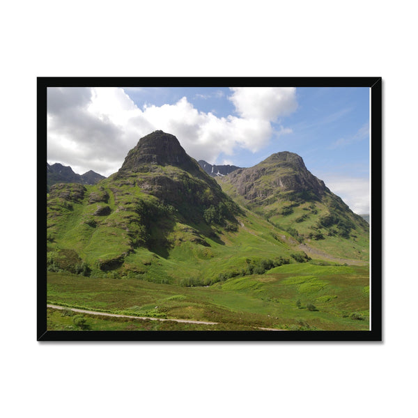 Glencoe 64 , the Highlands of Scotland Framed Print