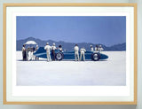 Bluebird at Bonneville by Jack Vettriano , framed prints by Jack Vettriano
