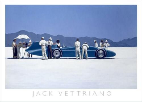 Jack Vettriano Bluebird at Bonneville art print ,  50 by 70 cm , framed or unframed