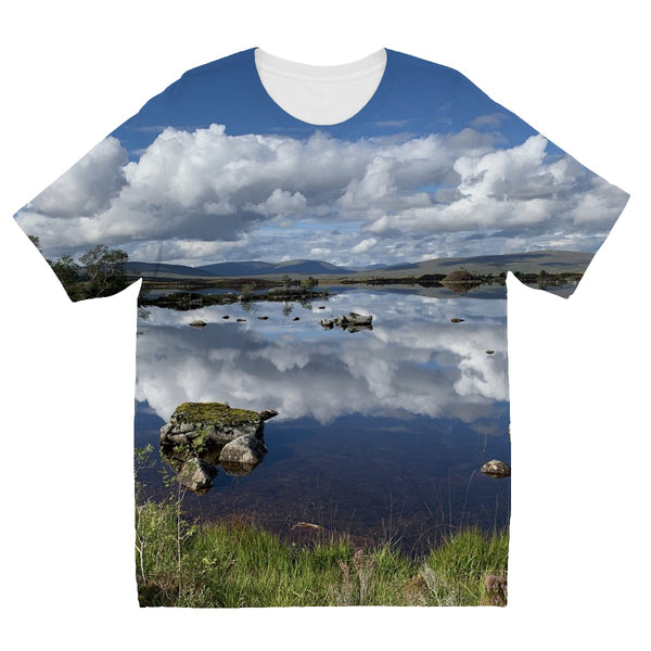 Lochan na - h Achlaise 2375 ,  the Black Mount,the Highlands, Scotland Kids' Sublimation T-Shirt