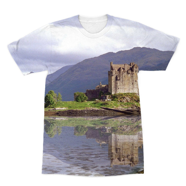 Eilean Donan Castle 37 Sublimation T-Shirt