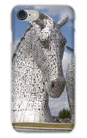 the Kelpies 906, the Helix, Falkirk , Scotland Phone Case