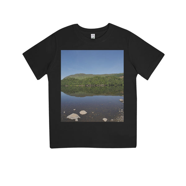 Loch Lubhair 243, the Highlands, Scotland Kids 100% Organic T-Shirt