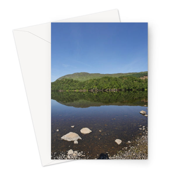 Loch Lubhair 243, the Highlands, Scotland Greeting Card
