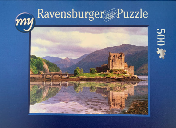 Eilean Donan Castle jigsaw puzzle 500 pieces from Photogold gifts