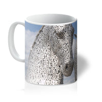 the Kelpies 906, the Helix, Falkirk , Scotland Mug