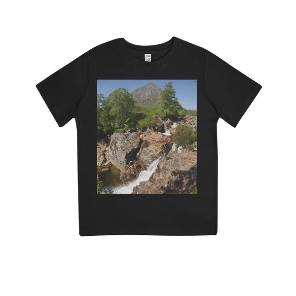 Glencoe 253, the Highlands , Scotland Kids 100% Organic T-Shirt
