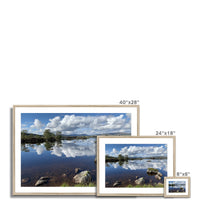 Lochan na - h Achlaise 2378 ,  the Black Mount,the Highlands, Scotland Framed & Mounted Print