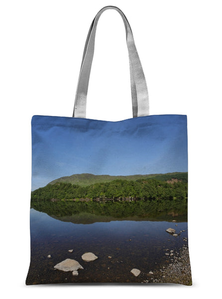 Loch Lubhair 243, the Highlands, Scotland Sublimation Tote Bag