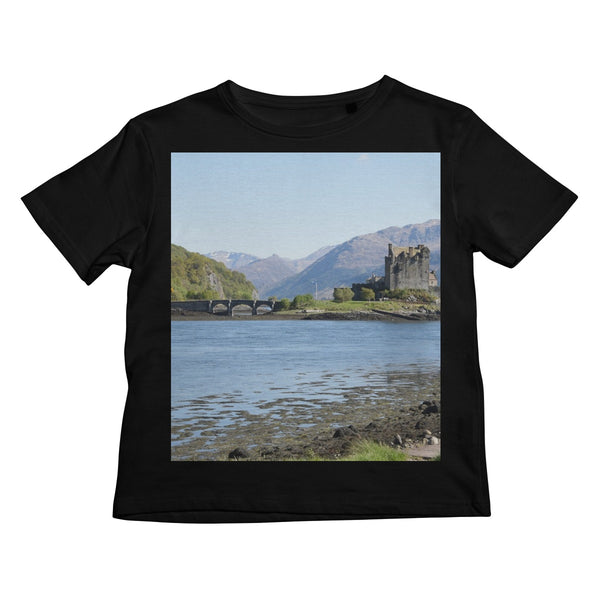 Eilean Donan Castle 40 in the Highlands of Scotland Kids Retail T-Shirt