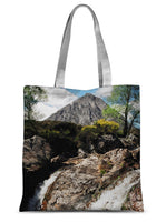 Buachaille Etive Mor, the Highlands Sublimation Tote Bag
