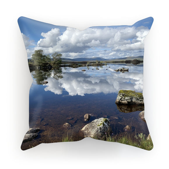 Lochan na - h Achlaise 2378 ,  the Black Mount,the Highlands, Scotland Cushion
