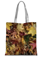Autumn leaves 12 Sublimation Tote Bag