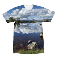 Lochan na - h Achlaise 2378 ,  the Black Mount,the Highlands, Scotland Sublimation T-Shirt