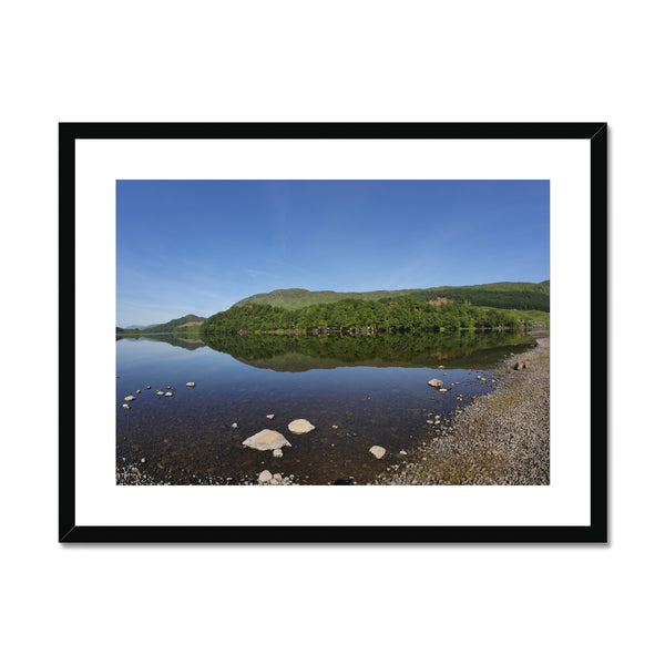 Loch Lubhair 243, the Highlands, Scotland Framed & Mounted Print