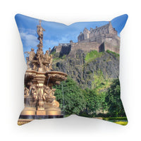 Edinburgh Castle 98 Cushion
