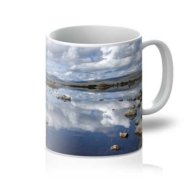 Lochan na - h Achlaise 2375 ,  the Black Mount,the Highlands, Scotland Mug