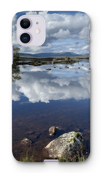Lochan na - h Achlaise 2378 ,  the Black Mount,the Highlands, Scotland Phone Case
