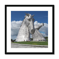 The Kelpies 151 Framed & Mounted Print