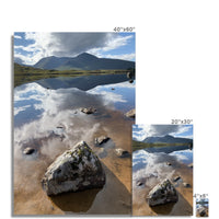 Lochan na - h Achlaise and The Black Mount Fine Art Print
