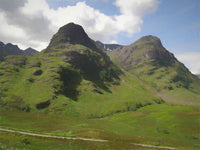 Glencoe , the Highlands of Scotland Large Format Canvas print 90 by 60 cm