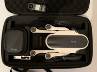GoPro Karma drone ( used ) with Karma grip , spare battery , battery charger and carrying case