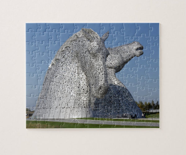 The Kelpies jigsaw puzzle 110 pieces