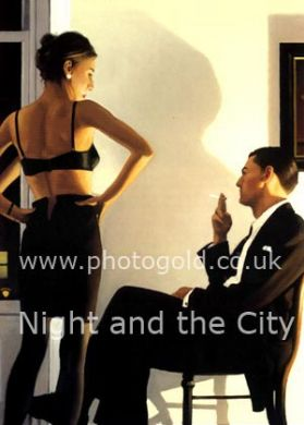 Night in The City by Jack Vettriano framed print