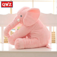 QWZ 40/60cm Infant Plush Elephant Soft Appease Elephant Playmate Calm Doll Baby Toy Elephant Pillow Plush Toys Stuffed Doll Gift