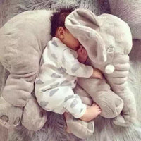 60CM One Piece Cute 5 Colors Elephant Plush Toy With Long Nose Pillows PP Cotton Stuffed Baby Cushions Super Soft Elephants Toys