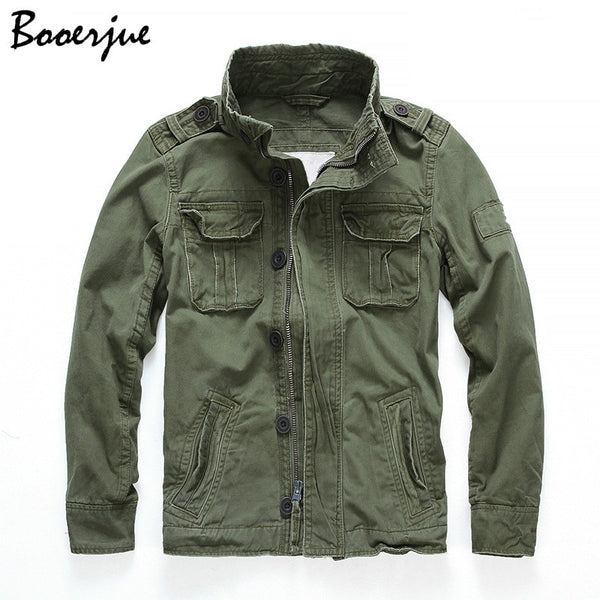 Camouflage Bomber Jackets Men Retro Military Pocket Men's Denim Macket Outwear Army Coats Casual Male Cotton Size S-2XL 2020