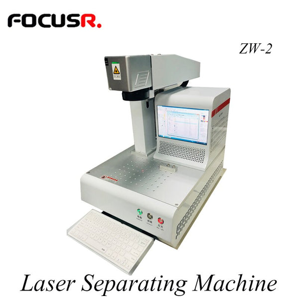Novecel ZW-2 Automatic Laser Mobile Phone Back Glass Separating Machine Laser Engraving Machine