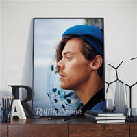 British Singer Harry Styles Posters Wall Art Decor Picture Modern Home Decor Room Decoration Quality Canvas Poster Painting A767