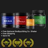 Best Bodybuilding Supplement Stack (Save 5% with Shaker and Free Shipping)