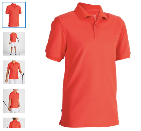 Short-Sleeved Polo