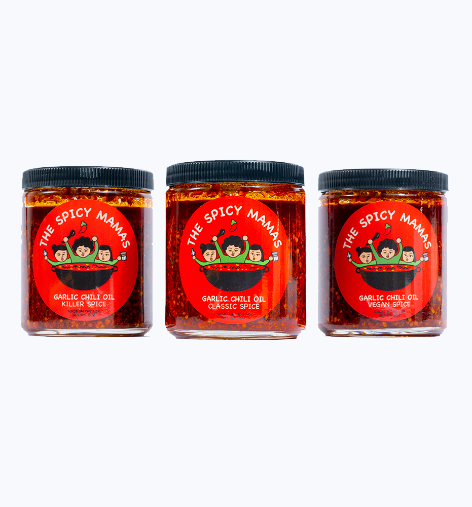 The Garlic Chili Oil - The Spicy Mamas