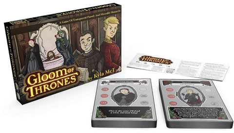 Gloom of Thrones Card Game