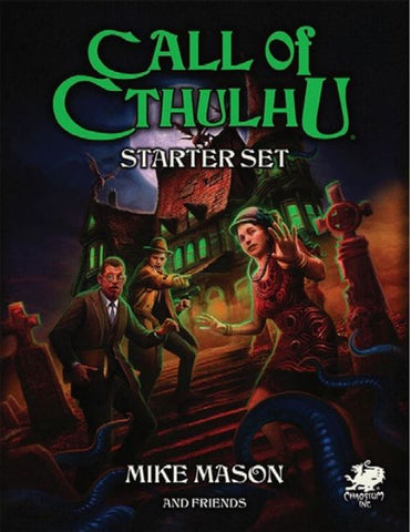Call of Cthulhu - Mystery and Horror RPG - Starter Set