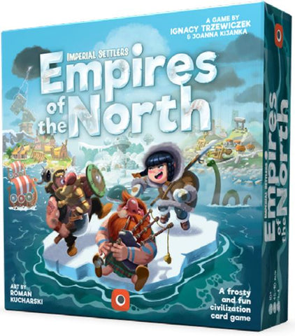 Imperial Settlers Card Game - Empires Of The North