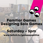 Publisher Seminars | Designing Solo Games