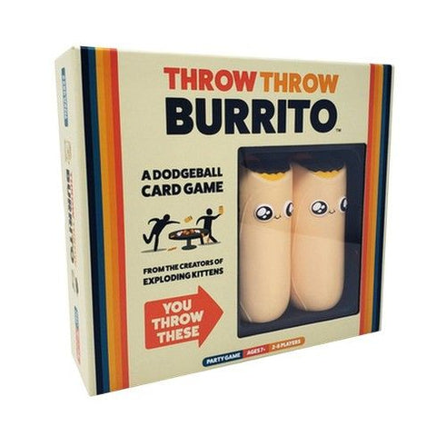 Throw Throw Burrito - Party Card Game