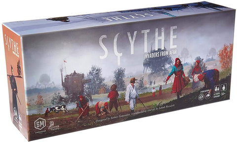 Scythe Board Game - Invaders From Afar Expansion
