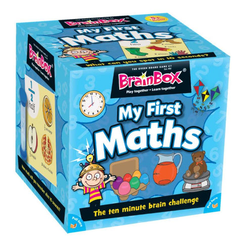 BrainBox My First Maths - The Ten Minute Brain Challenge