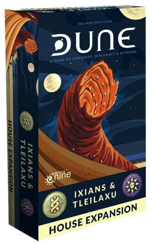 Dune Board Game - Ixians & Tleilaxu House Expansion