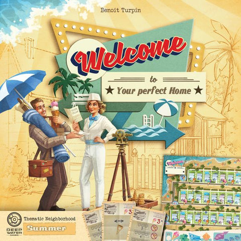 Welcome To Board Game - Summer Neighborhood Expansion