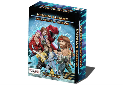 Venom Assault Deck-building Game - Villains and Valor Expansion