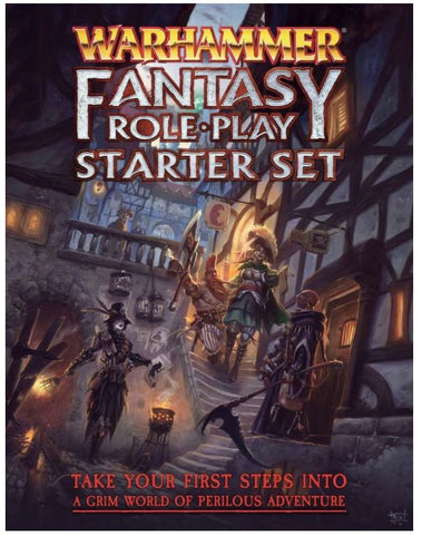 Warhammer Fantasy Roleplay WFRP4 - Fourth Edition Starter Set